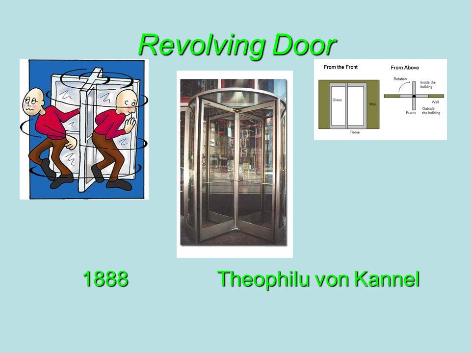 Revolving Door 1888Theophilu von Kannel