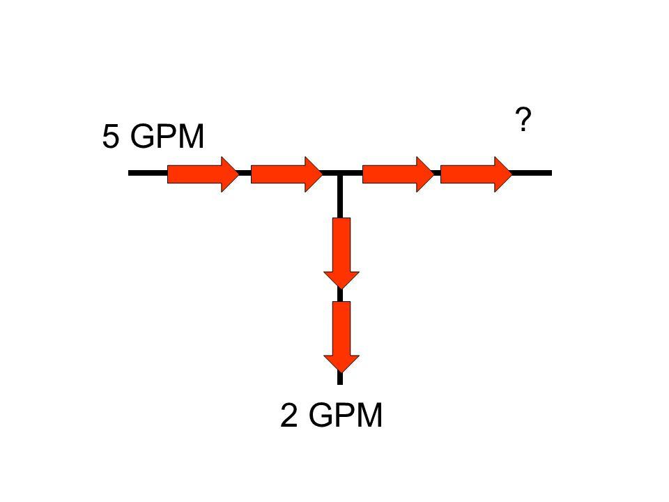 5 GPM 2 GPM ?
