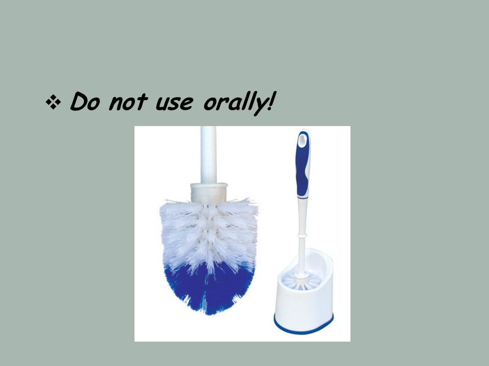 Do not use orally!