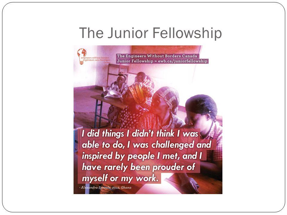 The Junior Fellowship