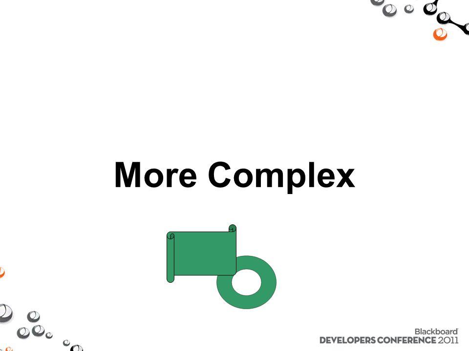 More Complex