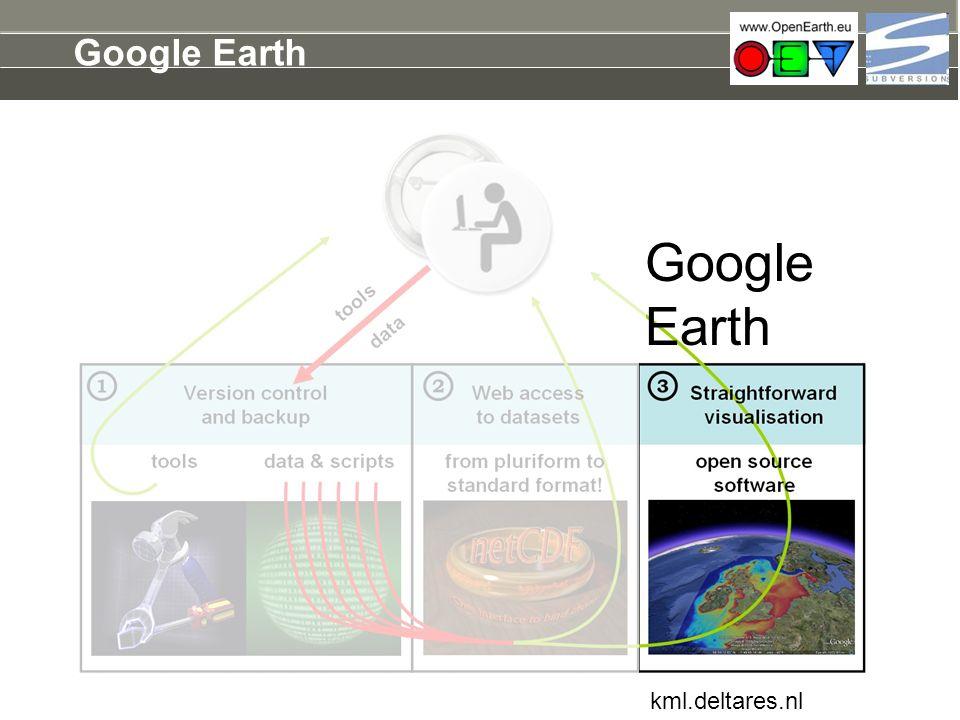 Google Earth kml.deltares.nl