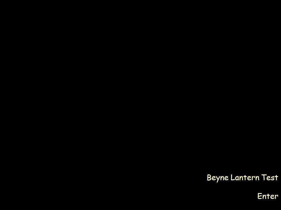 Beyne Lantern Test Enter