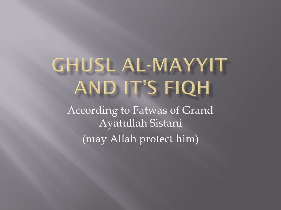 According to Fatwas of Grand Ayatullah Sistani (may Allah protect him)