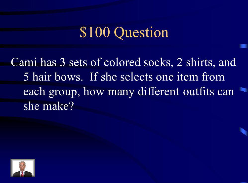 $500 Answer C 0.15
