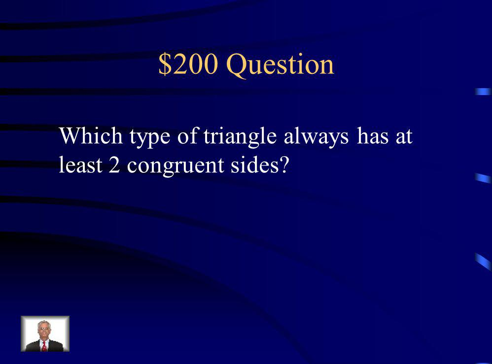 $100 Answer A Trapezoid