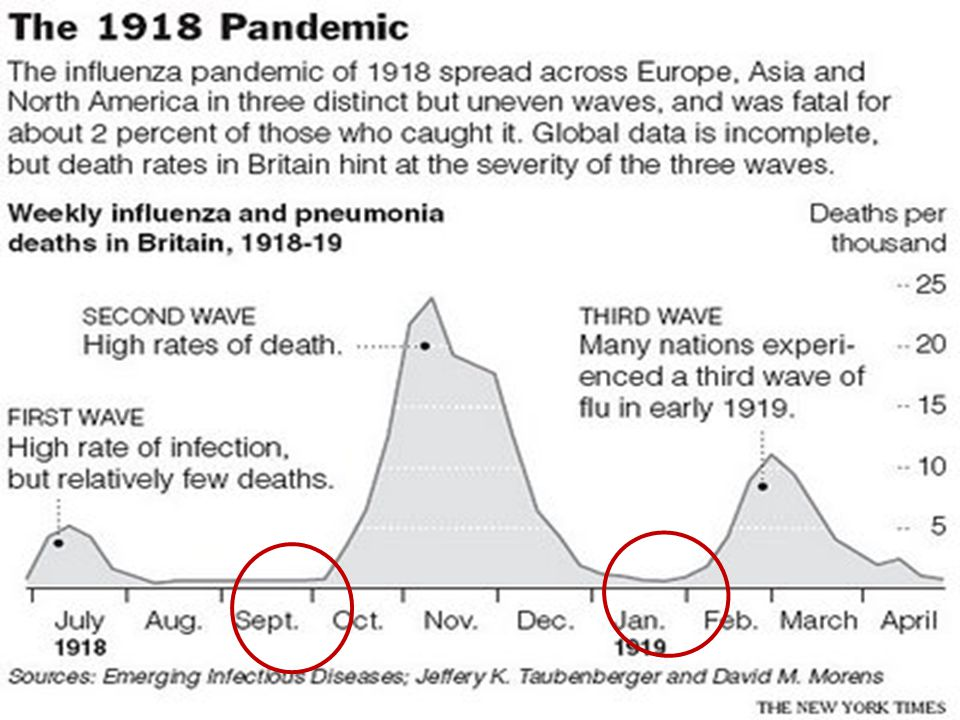Cabinet for Health and Family Services 1918 Pandemic 2 nd and 3 rd waves 13