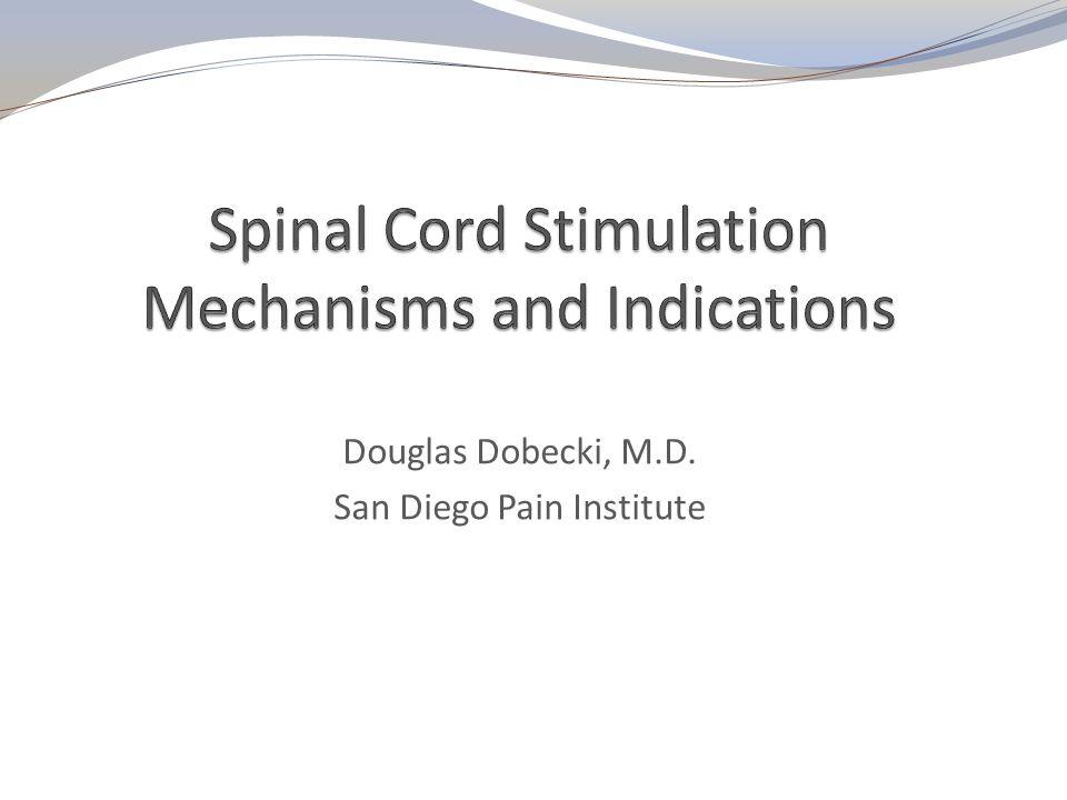Douglas Dobecki, M.D. San Diego Pain Institute