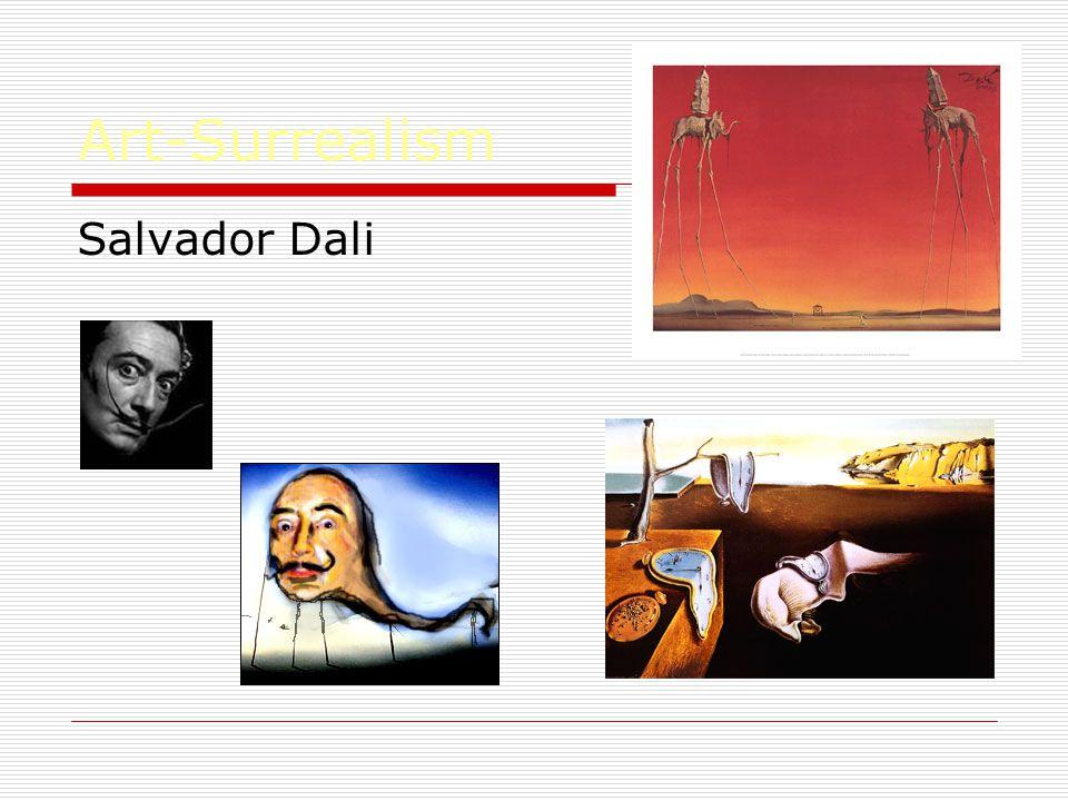Art-Surrealism Salvador Dali