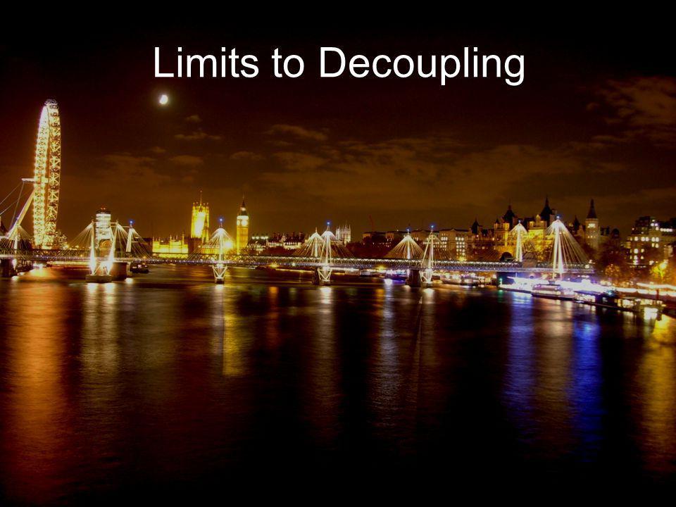 Limits to Decoupling