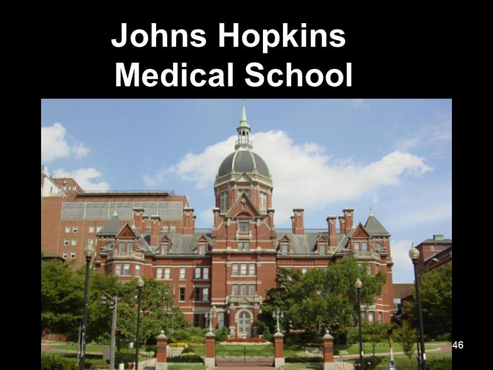 46 Johns Hopkins Medical School
