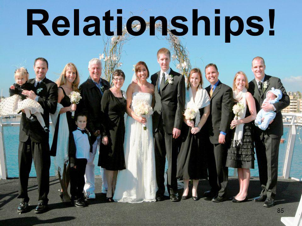 85 Relationships!