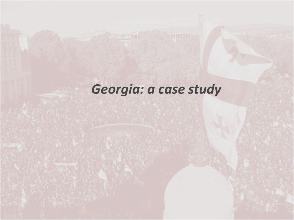 Georgia: a case study