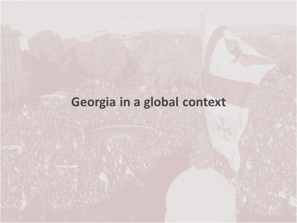 Georgia in a global context