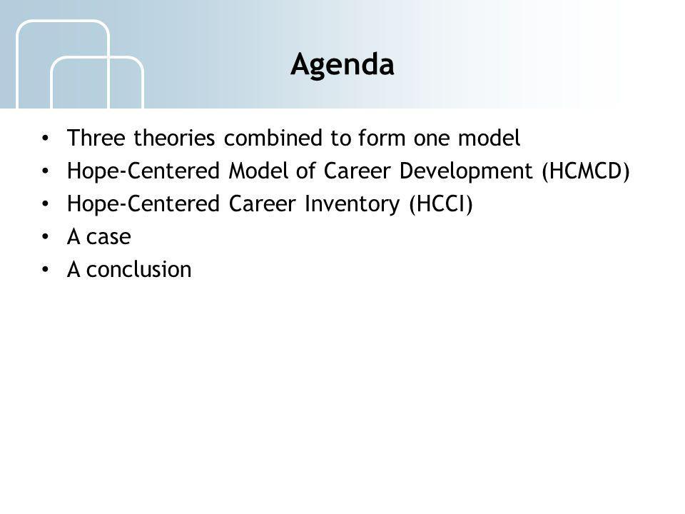 Hope-Centered Career Development Model 13