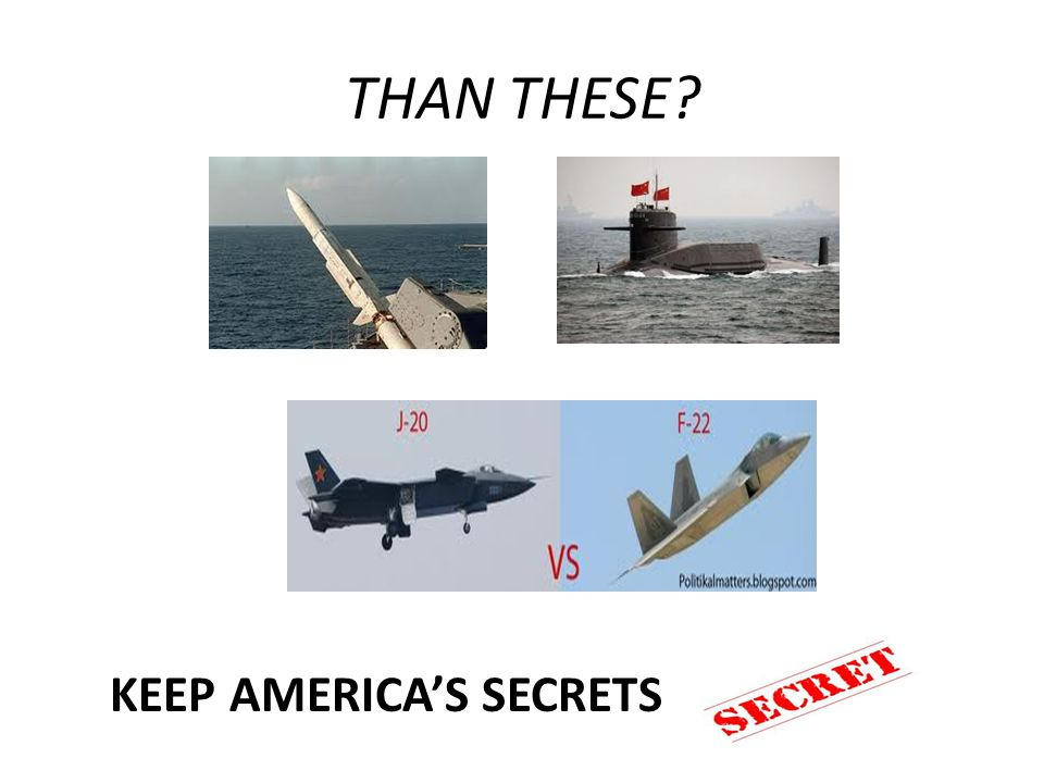 THAN THESE KEEP AMERICAS SECRETS