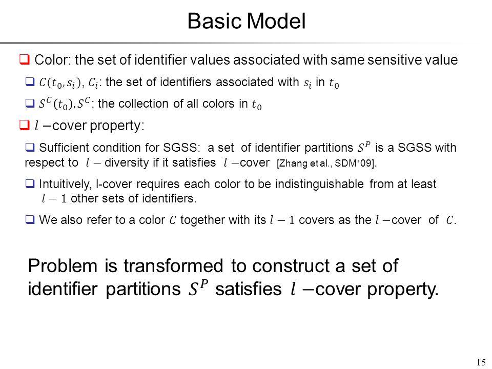 15 Basic Model