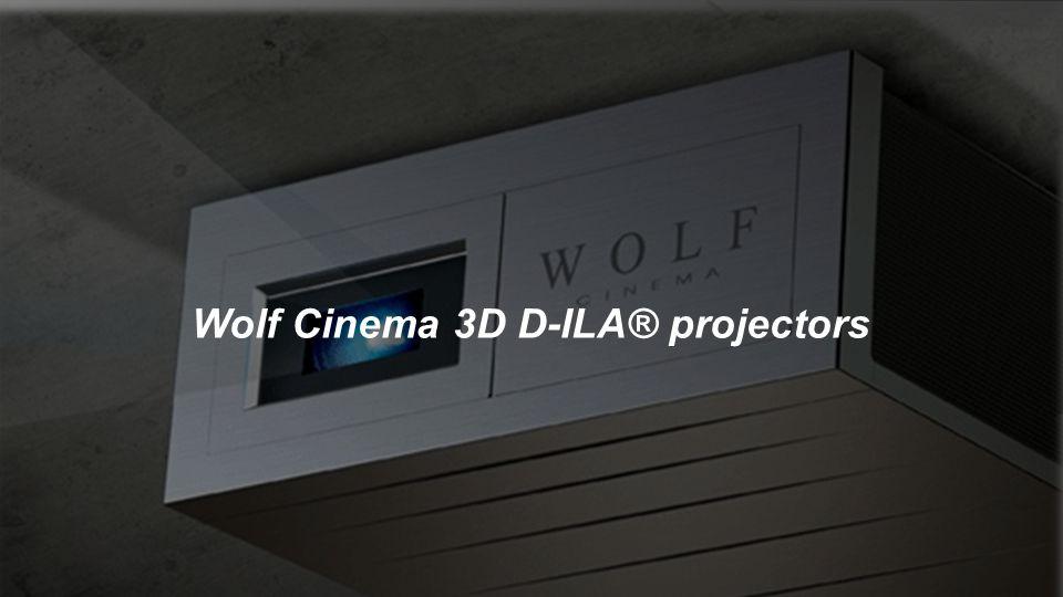 Wolf Cinema 3D D-ILA® projectors
