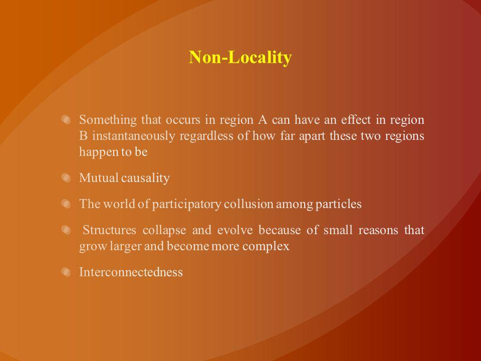 Non-Locality