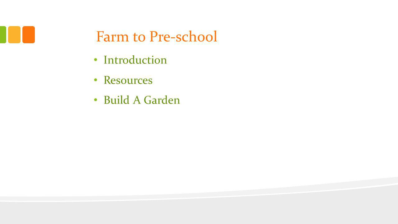 Preschool gardening engages children by providing an interactive environment to observe, discover, experiment, nurture and learn.