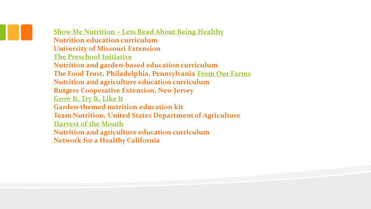 Please watch the video about the Farm to Preschool Program.