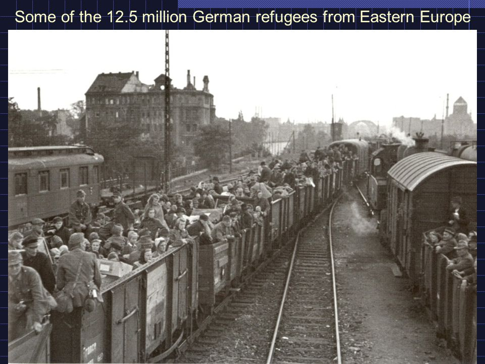 Some of the 12.5 million German refugees from Eastern Europe