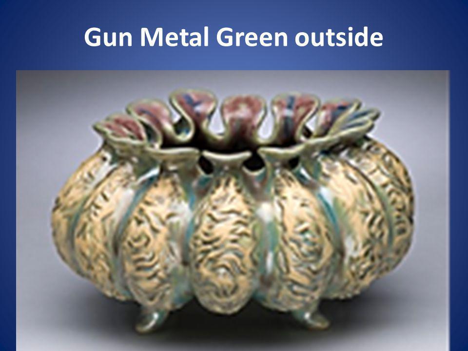 Gun Metal Green outside