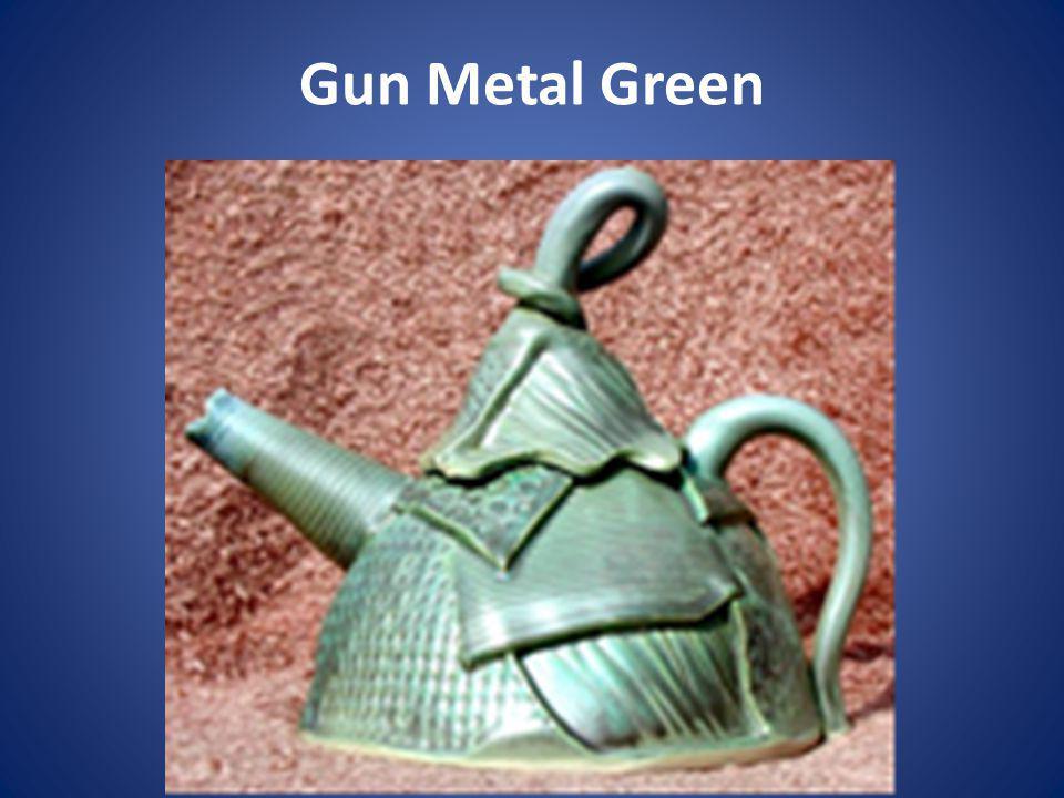Gun Metal Green