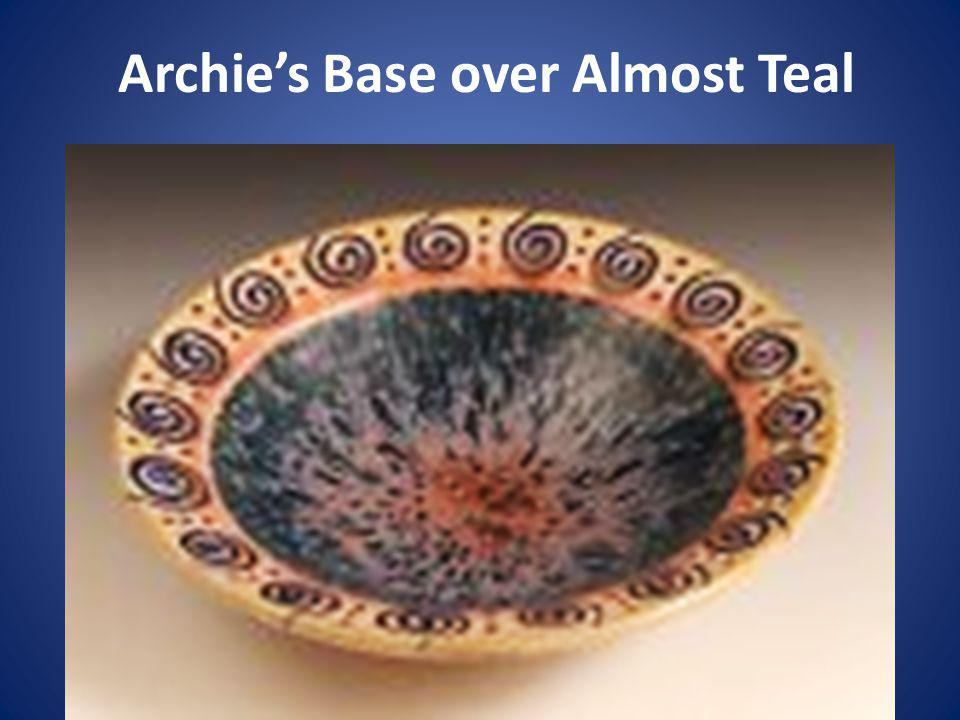 Archies Base over Almost Teal
