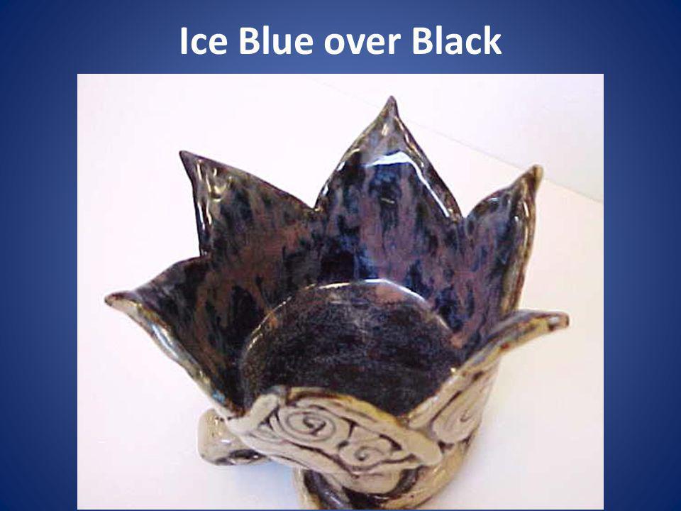 Ice Blue over Black