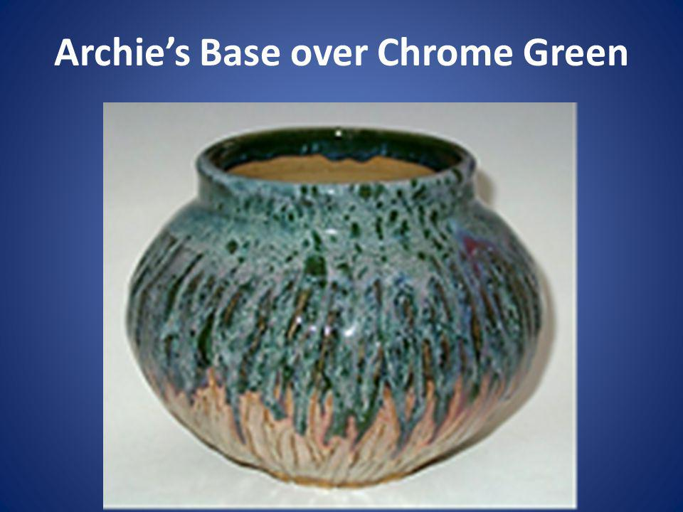Archies Base over Chrome Green
