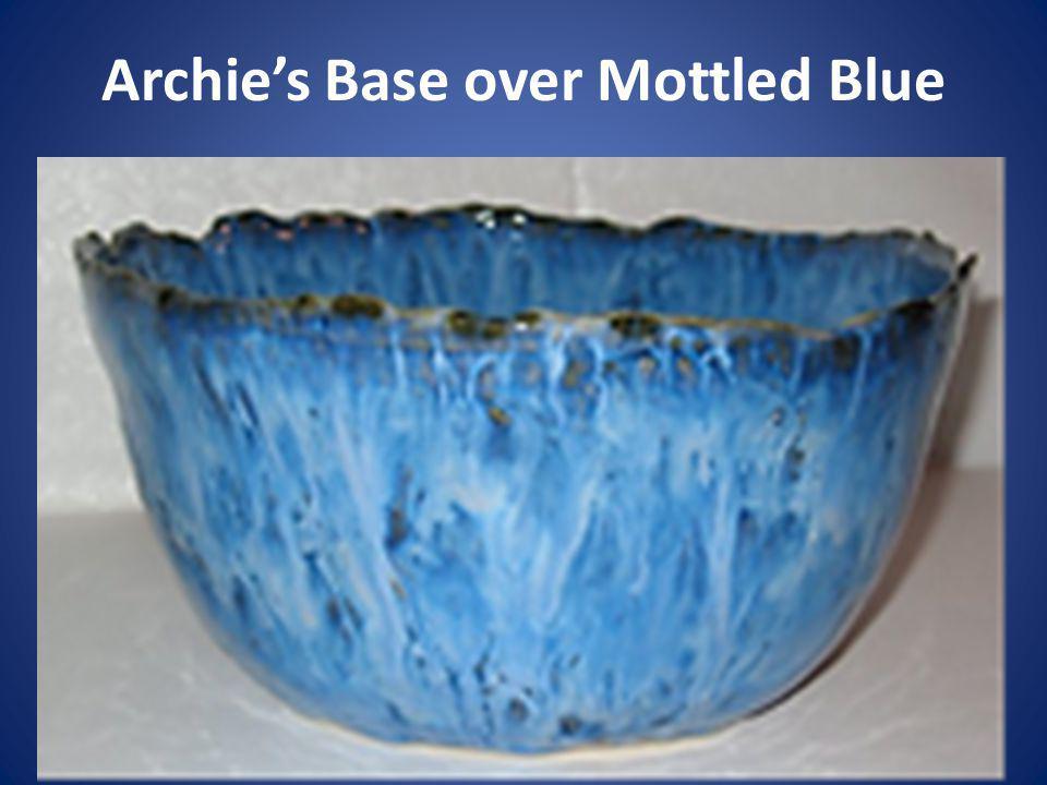 Archies Base over Mottled Blue