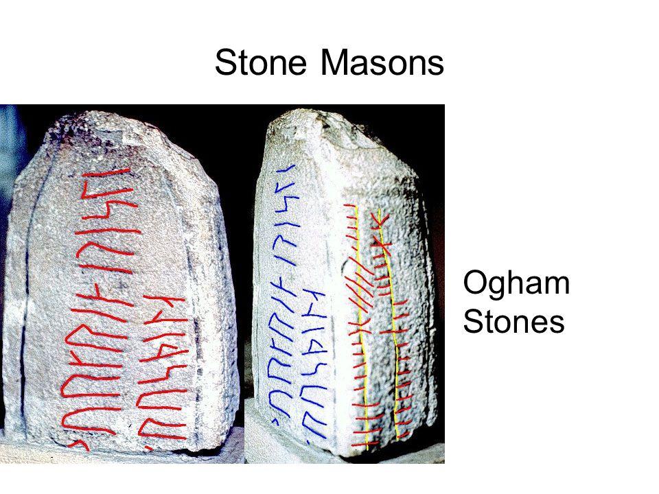 Stone Masons Ogham Stones