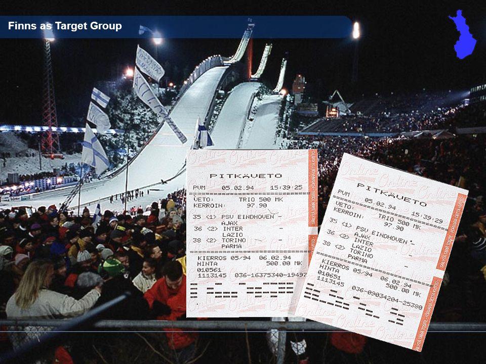 Guts Sports & Gambling Finns as Target Group