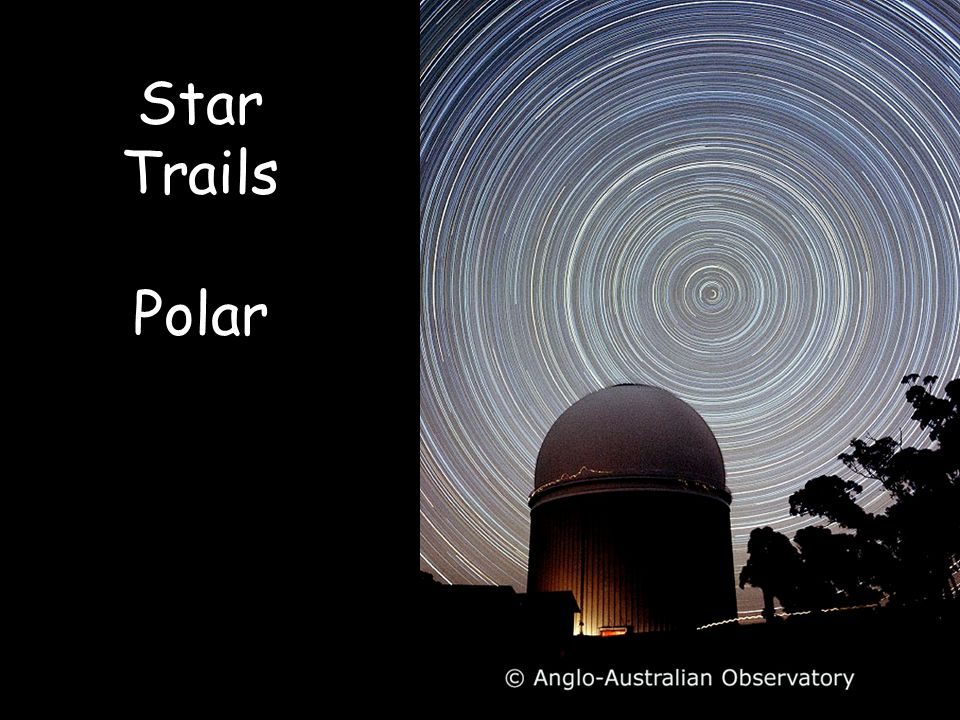 Star Trails Polar