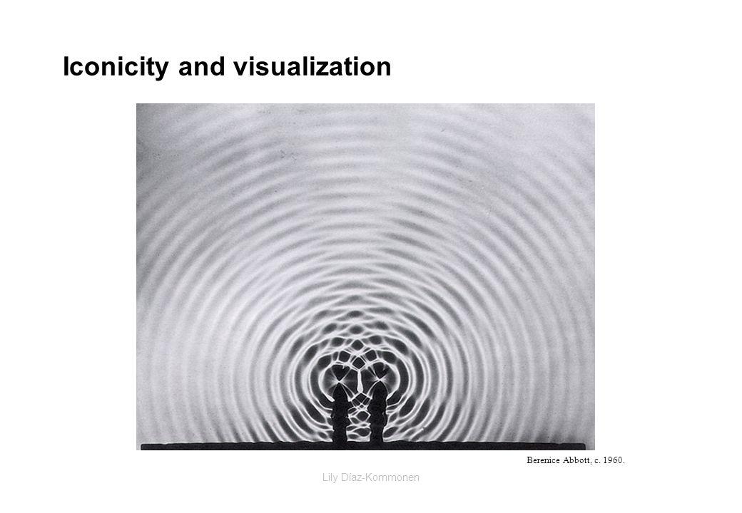Lily Díaz-Kommonen Iconicity and visualization Berenice Abbott, c. 1960.