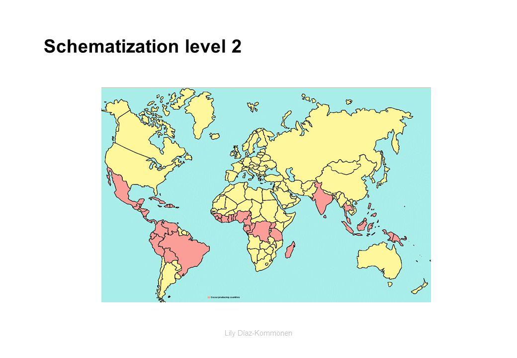 Lily Díaz-Kommonen Schematization level 2