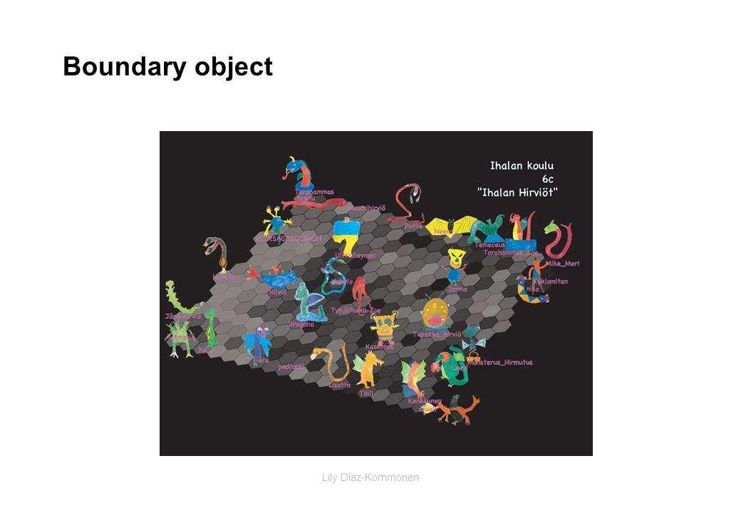 Lily Díaz-Kommonen Boundary object