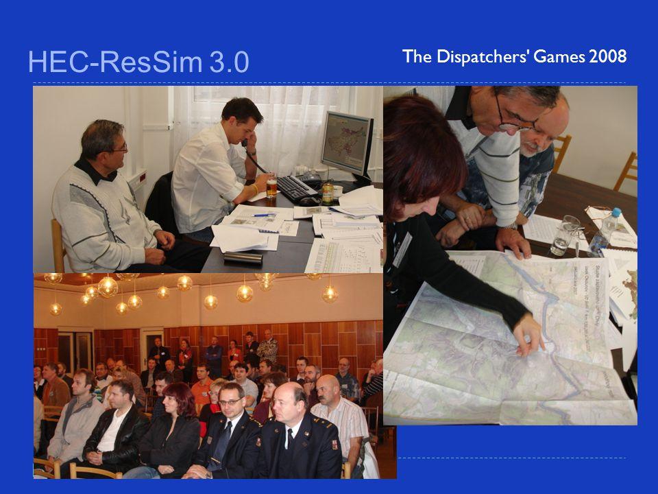 HEC-ResSim 3.0 The Dispatchers' Games 2008