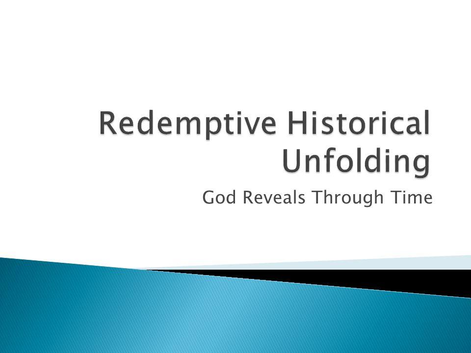 God Reveals Through Time
