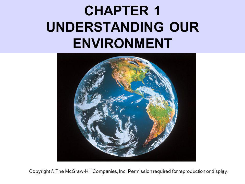 2 The Planet Earth Unique (?) in the universe Mild, relatively constant temperatures Biogeochemical cycles Millions of species Diverse, self-sustaining communities PART 1: UNDERSTANDING OUR ENVIRONMENT Earth – our frame of reference
