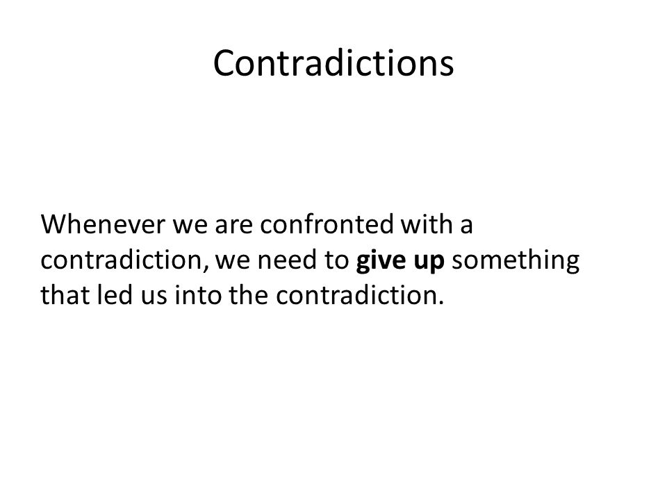 Conditional Proof Suppose you want to prove a conditional (if- then) statement.