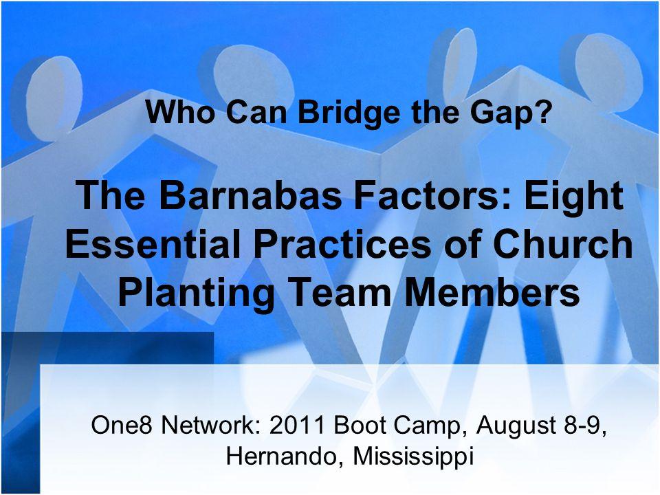 Who Can Bridge the Gap.