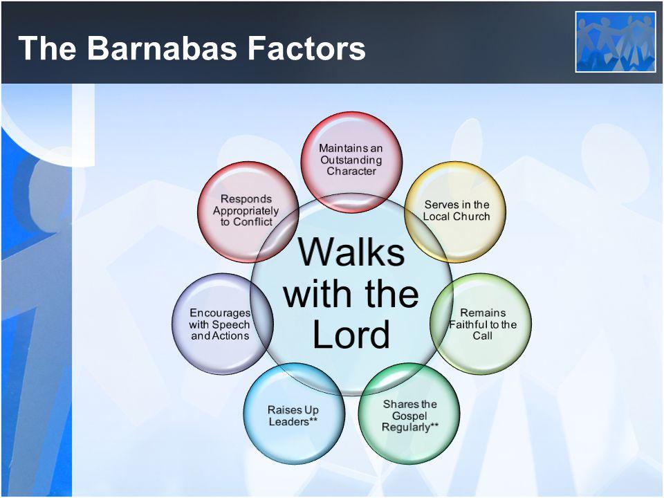 The Barnabas Factors