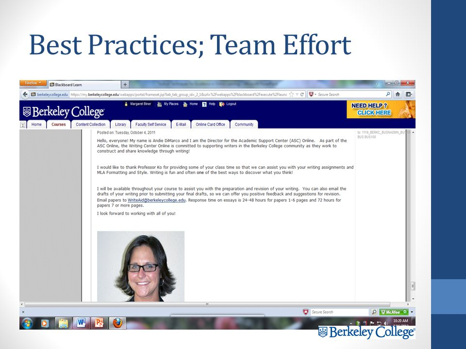 Best Practices; Enlist Support