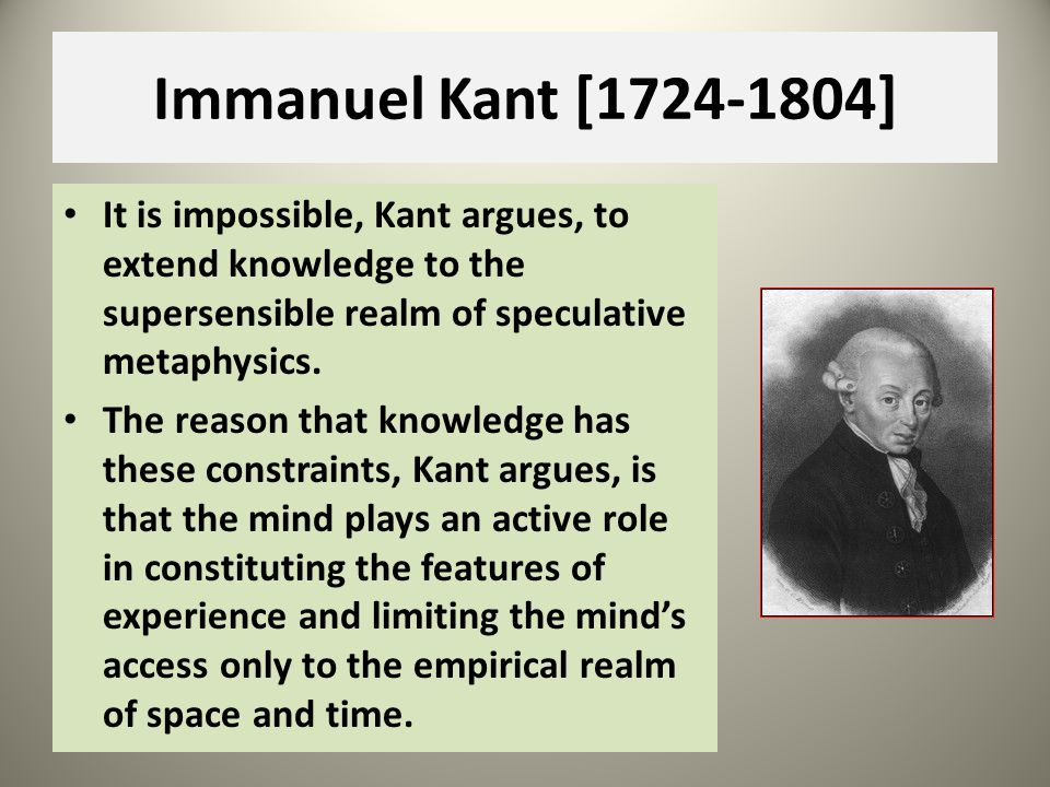 Kants Categorical Imperative To most philosophers this poses an insuperable problem: a moral law that applied to all rational beings, irrespective of their personal wants and desires, could have no specific goals or aims, because all such aims would have to be based on someones wants or desires.