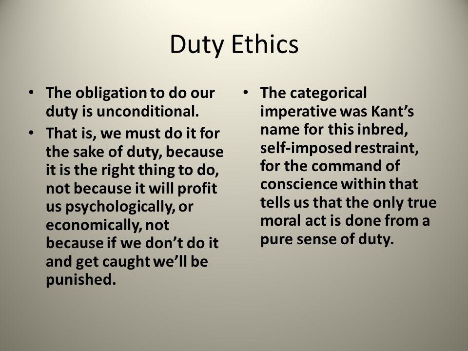 A Problem of Kants Ethics Kant still faced a major problem.