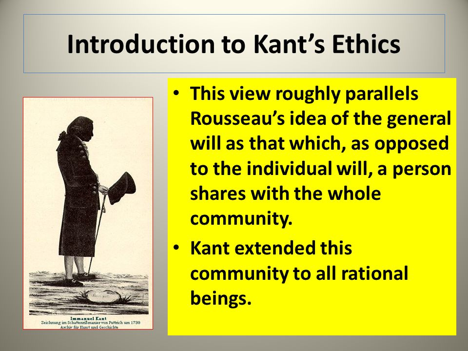 A Problem of Kants Ethics The moral law inevitably produces a feeling of reverence or awe.