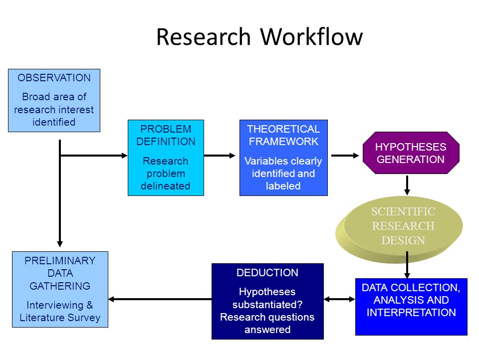 what is scientific research process