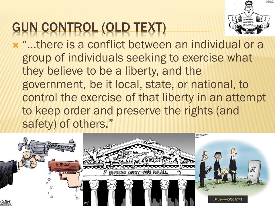 …there is a conflict between an individual or a group of individuals seeking to exercise what they believe to be a liberty, and the government, be it